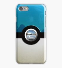 Blue Pokeball iPhone Case/Skin