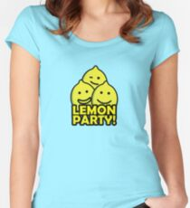 Lemon Party! Women's Fitted Scoop T-Shirt