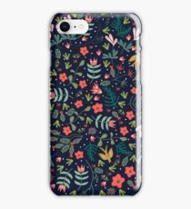 Flying Around in the Garden iPhone Case/Skin