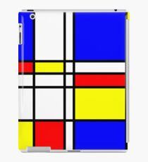 Piet Mondrian-Inspired 2 iPad Case/Skin