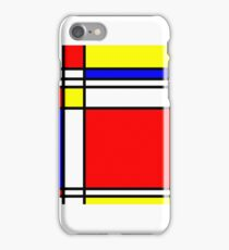 Piet Mondrian-Inspired 3 iPhone Case/Skin