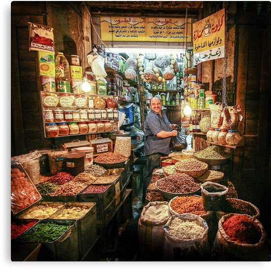 Damascus Souk #0101 by Michiel de Lange