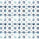 Azulejos - Portuguese tiles by Ingrid Beddoes