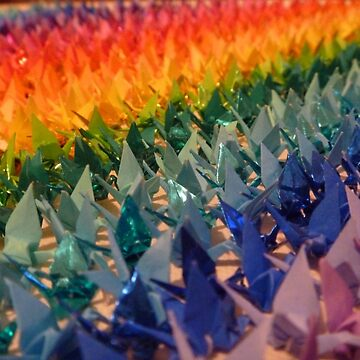 1000 Cranes by ebonyjade