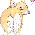Corgi Love by BeeHappyShop
