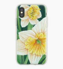 Spring Daffodils Painting iPhone Case