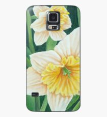 Spring Daffodils Painting Case/Skin for Samsung Galaxy