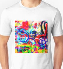 Crazy Graffiti Unisex T-Shirt