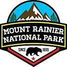 MOUNT RAINIER NATIONAL PARK WASHINGTON BEAR 1899 HIKING CAMPING CLIMBING by MyHandmadeSigns
