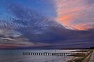 First light on the pier by cclaude