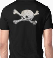 Ancient, Skull & Crossbones, Death, Battle of Trafalgar, 21 October, 1805, Rock of Gibraltar, Gothic, Pirate, Buccaneer, on Black Unisex T-Shirt