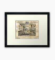Chadburn Brothers, optical, mathematical and philosophical instrument makers, 19th cent Framed Print