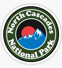 NORTH CASCADES NATIONAL PARK WASHINGTON BEAR HIKING CAMPING CLIMBING Sticker