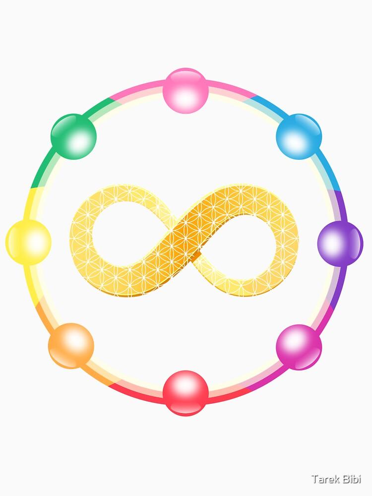 Infinity Healing logo t-shirt by EEL84