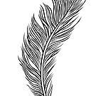 Feather (Feder) von Lana Petersen