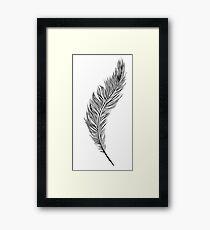 Feather (Feder) Framed Print