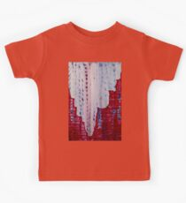 Snowy Canyon original painting Kids Tee