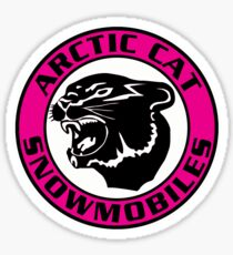Arctic Cat Vintage Snowmobiles USA Sticker