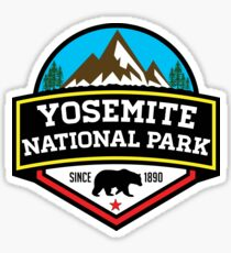 YOSEMITE NATIONAL PARK CALIFORNIA BEAR MOUNTAIN HIKING CAMPING CLIMBING Sticker