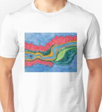 The Riffles original painting Unisex T-Shirt
