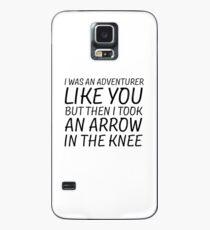 Elder Scrolls Skyrim Funny Quote Arrow To The Knee Case/Skin for Samsung Galaxy
