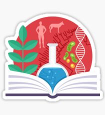 Biology Emblem Sticker