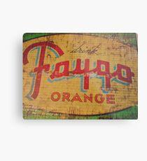 Faygo Orange Metal Print