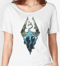 Custom Skyrim Logo Women's Relaxed Fit T-Shirt