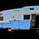 Vintage Travel Trailer by CarolM
