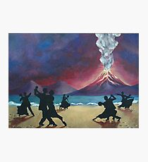 End of the World Painting Photographic Print