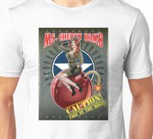 Ms. Cherry Bomb - military pin up girl  Unisex T-Shirt