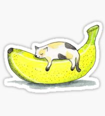 Banana cat Sticker