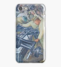 Diego Rivera Auto Plant iPhone Case/Skin