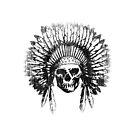 Vintage Chief Skull Design by EthosWear