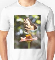 Butterfly with Flower Unisex T-Shirt
