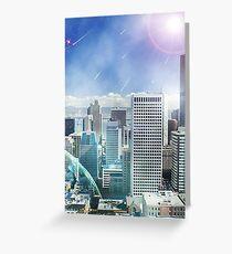 Galaxy Utopia Greeting Card