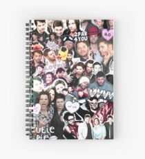 Supernatural Collage Spiral Notebook