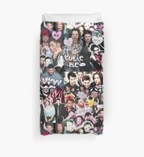 Supernatural Collage Duvet Cover