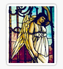 Angel - Stained Glass Sticker