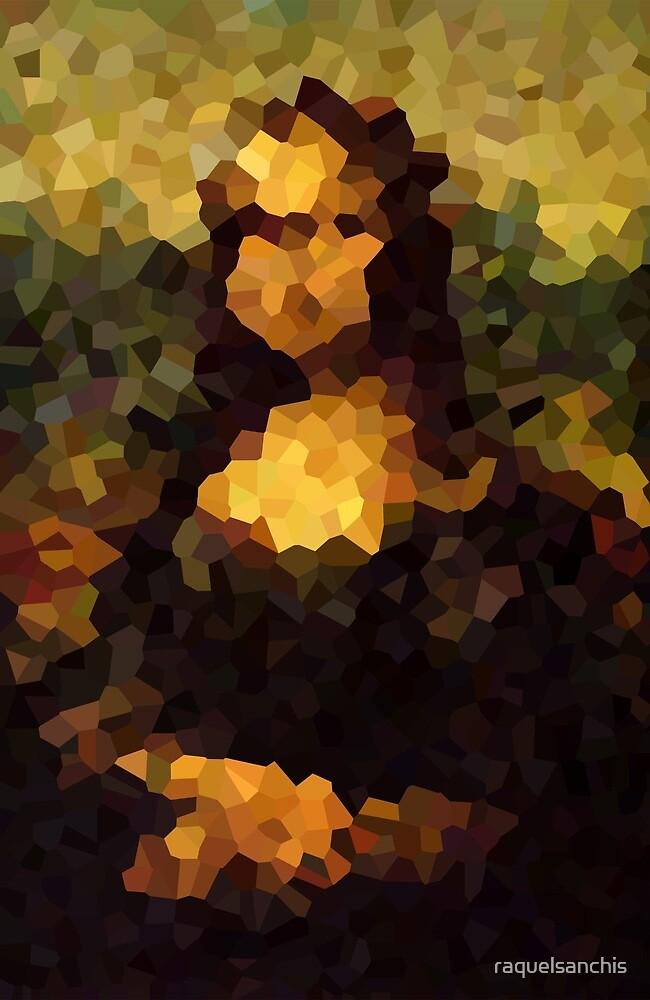 Pixelated Mona Lisa by raquelsanchis
