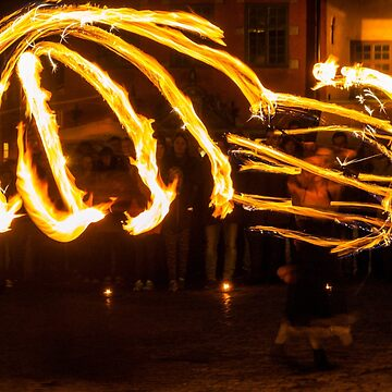 Fire Dancing by slim6y