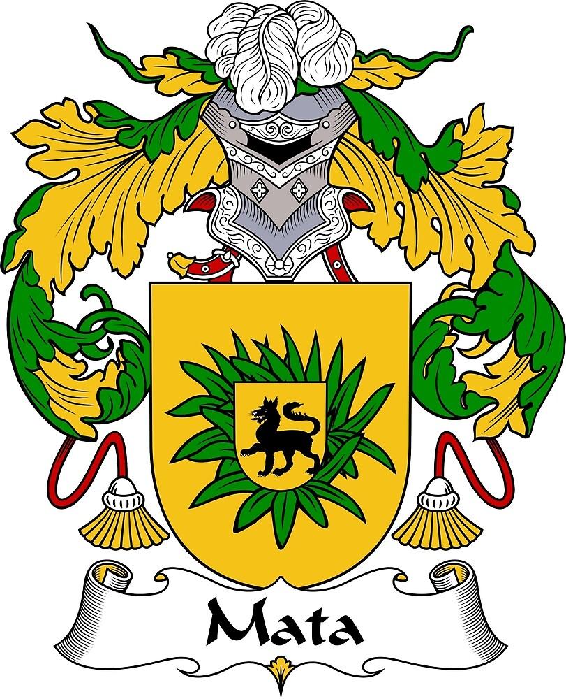Mata Coat of Arms/ Mata Family Crest