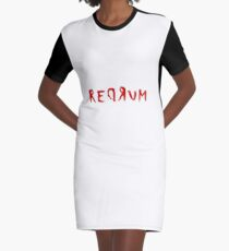 Vestido camiseta Redrum The Shining Quote Stanley Kubrick Horror