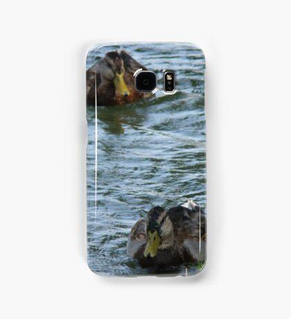 Ducks In a Row Samsung Galaxy Case/Skin