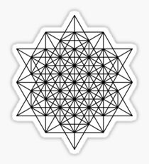 Star tetrahedron Sticker