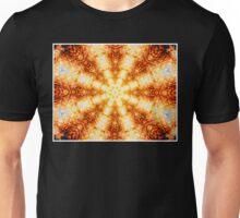 Undulating Tunnels of Molten Light - Abstract Fractal Art Unisex T-Shirt