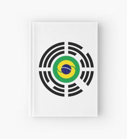 Korean Brazillian Multinational Patriot Flag Series Hardcover Journal
