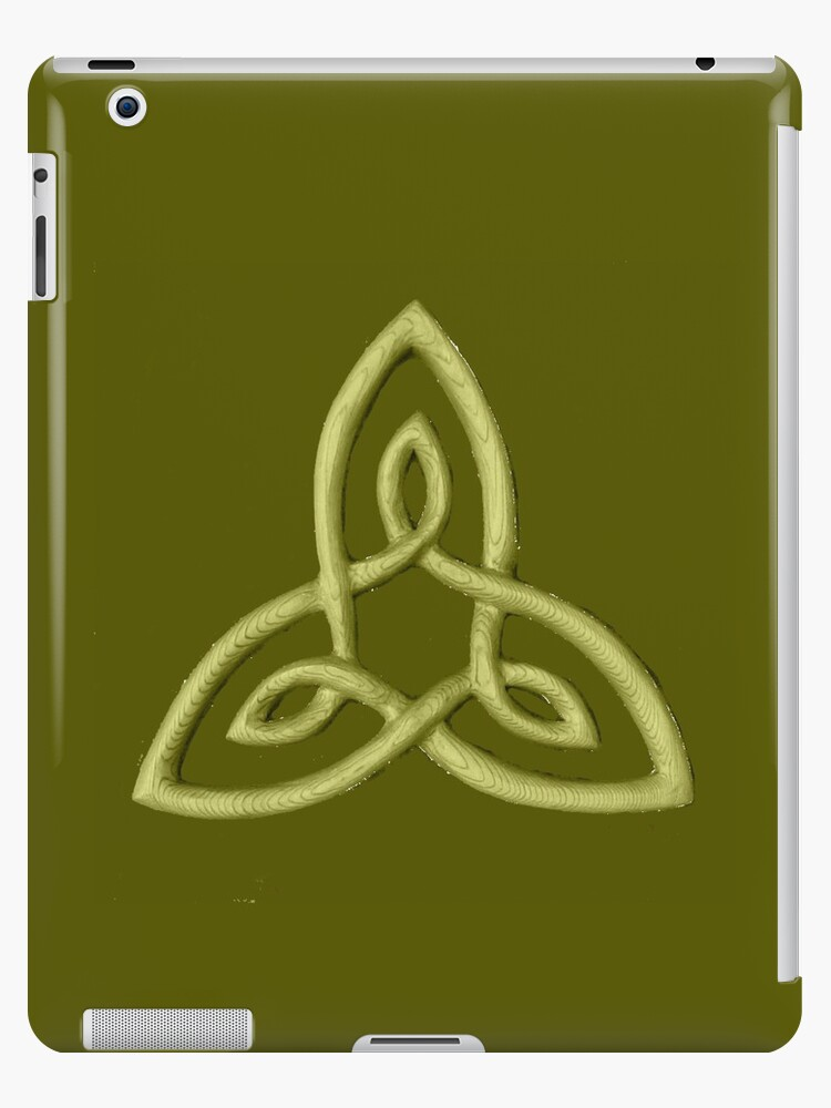 Celtic Symbol For Inner Strength Ipad Cases Skins By Zentiful