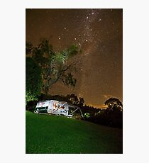 Above the World so Bright - Milky Way Photographic Print
