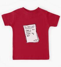 Alex Hamiltoon - Yorktown To-Do List Kids Tee